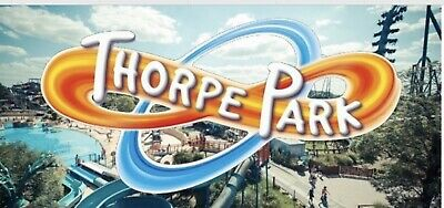 Thorpe park tickets 19th July 2019