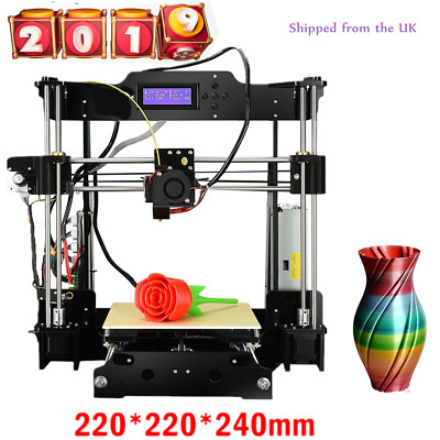 3D Printer High Precision MK8 Reprap Prusa i3 MK3 Heatbed Aluminium Kit from UK