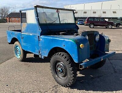 "Land Rover Series One 1 80"" UK Registered 1953"