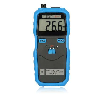 BSIDE BTM01 Digital 1.77IN 2-Channel Handhold K-Type Temperature Thermometer BE