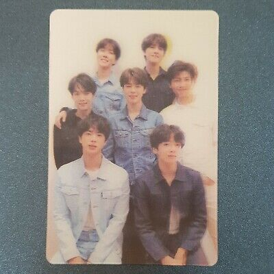 Group - Official Photocard BTS Love Yourself 'Tear' Special Photocard (Defected)