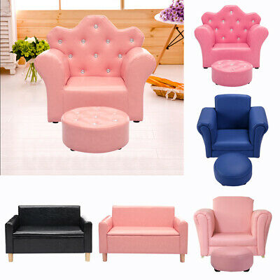 PU KIDS SOFA Toddler Ultra-Soft Armrest Chairs Couch for ...
