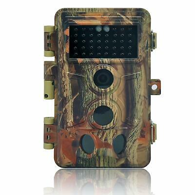 Trail Camera 16MP 1080P HD Waterproof, Wildlife Hunting Scouting Game Camera wit