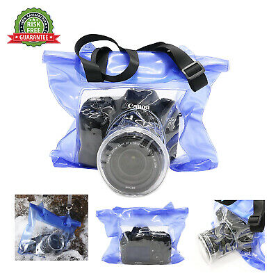 20m DSLR SLR Camera Waterproof Bag Housing Case Pouch Cover for Nikon Canon Sony