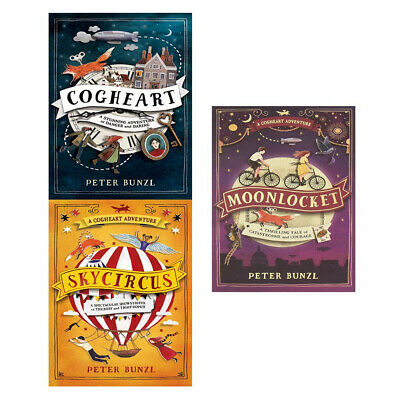 A Cogheart Adventure 2 Books Collection Set By Peter Bunzl paperback NEW