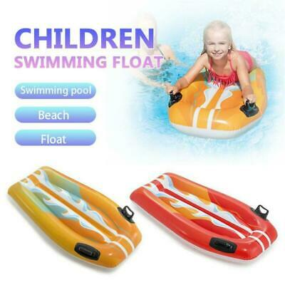 Children Inflatable Floating Bed Swimming Beach Summer Water Game Party Toy