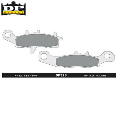 DP Sintered Off-Road/ATV Front Brake Pads DP326 Suzuki RM 85 2005-2013