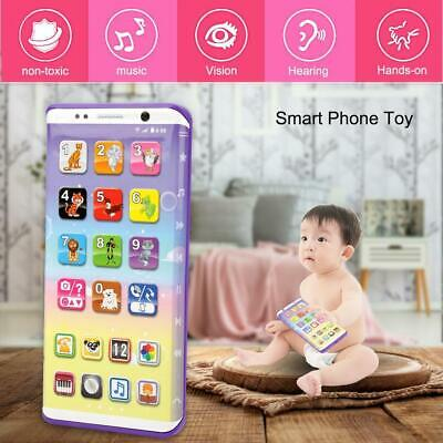 Mobile Phone For Baby Rechargeable Educational Toy Flashing Sounds Kids Gift