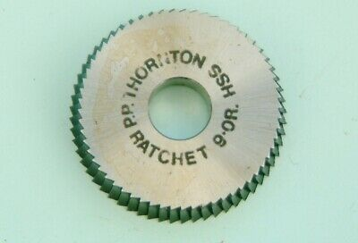 Clockmakers P P Thornton Ratchet Cutter Tool Thorntons Ratchet Cutters 9-OR new