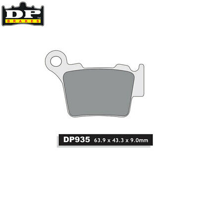 DP Sintered Off-Road/ATV Rear Brake Pads DP935 Sherco SEF 450 2015