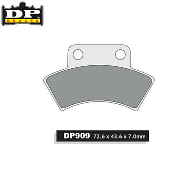 DP Sintered Off-Road Parking Brake Pads DP909 CFMOTO Terralander 500 2012-2013