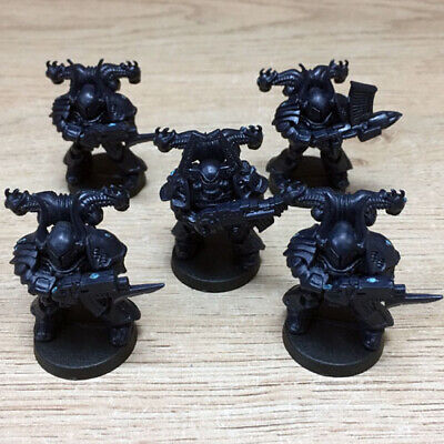 Space Crusade Chaos Space Marine Squad (MB/Games Workshop, Warhammer 40k)