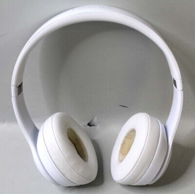 BEATS By Dr. Dre SOLO 3 Wireless - WHITE TESTED A1796 - READ