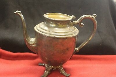 WM Rogers ~ International Silver Silverplate Tea Pot ~ MISSING LID
