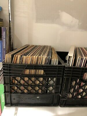 Lot Of Surprise Vinyl Records (80's, 70's Mix) Guaranteed At Least 10 Records