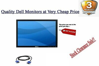 """Cheap Dell 19"""" INCH LCD SRCEEN LCD MONITOR For COMPUTER PC LAPTOP TFT VGA x"""