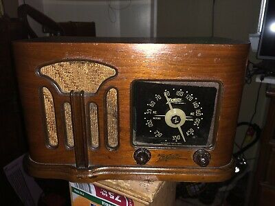 Zenith 6 d 628 Wood Radio Deco Scarce Version