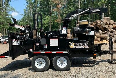 2014 Brush Bandit 1590XP with Only 617 Hours!!! (#2833)
