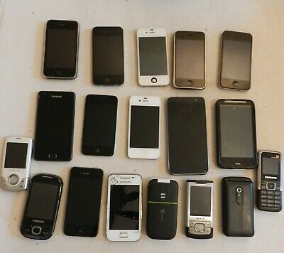 Job lot mobile phones Apple Iphone Samsung spares or repair untested