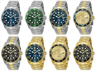 Invicta Men's Pro Diver 43mm Stainless Steel Watch - Choice of Color