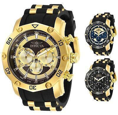 Invicta Men's Pro Diver Scuba Gold-Tone 50mm - Choice of Color
