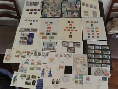 Collection Covers/First Day Covers ,Sheets,Stockcards,Packets Stamps,Etc(J19A)