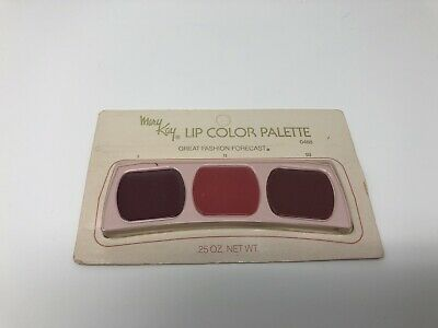 Vintage Retired NEW Mary Kay Lip Color Pallet - Great Fashion - REDS 1, 2, & 3