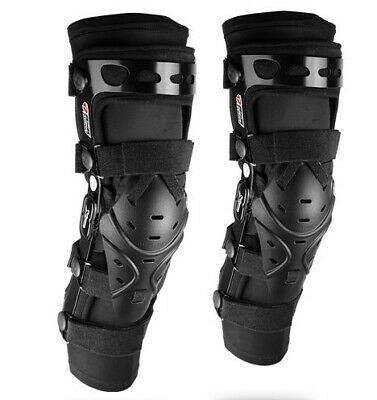 RXR XCROSSED Kneebrace Knee Brace Ski Mountainbike Motocross MX einstellbar S XL
