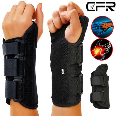 Breathable Wrist Support Splint for Sprain Injury Carpal Tunnel Pain Relief IA