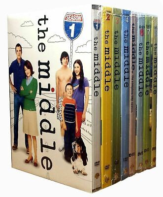 The Middle Complete TV Series All Seasons 1-9 DVD Set,Bundle,free shipping