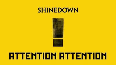Shinedown * Attention Attention [New CD] 2018