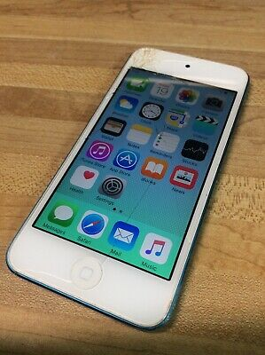 Apple iPod touch 5th Generation 32GB Blue- Mp3 Player Tested