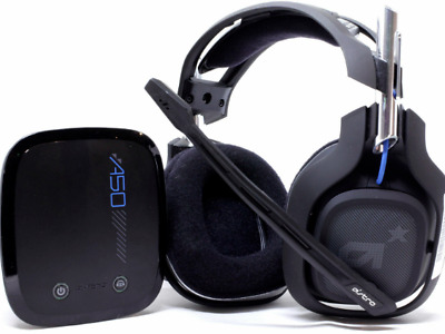 ASTRO A50 Wireless Gaming Headset for PS4 MAC PC w/ Box & Accessories. Fast Ship