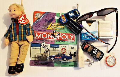 Vintage Junk Drawer Diecast Cars Game Token Collectible Monopoly Hotwheels