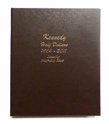 Set of 158 1964-2011 Kennedy Half Dollars Including Proof Issues in Dansco Album