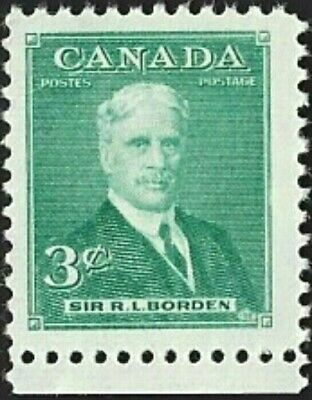 Canada  # 303    SIR ROBERT BORDEN    Brand New 1951 Pristine Issue