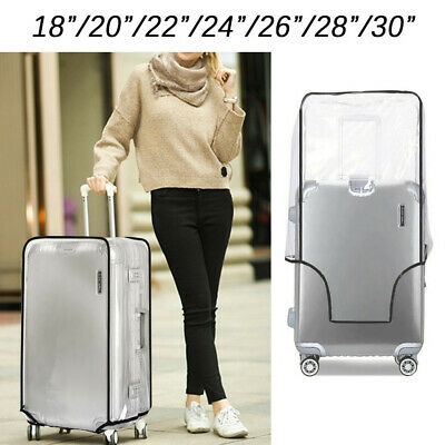 Travel Protective PVC Storage Case Suitcase Cover Dust proof Baggage Protector