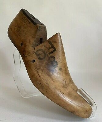 Mobbs & Lewis Kettering Vintage 1950s Wooden Shoe Tree Last Size 8 FG Right Foot