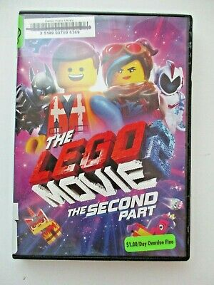 The Lego Movie 2: The Second Part FREE SHIP DVD 2019 USA SELLER movie cartoon