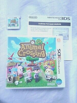 Animal Crossing: New Leaf (Nintendo 3DS, 2013) - CIB - Used