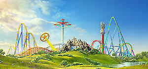 2 Two E-Tickets California's Great America, Kings Dominion, Kings Island ...