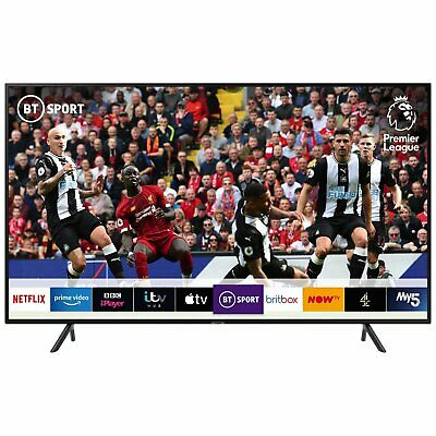Samsung UE50RU7100KXXU 50 Inch 4K Ultra HD HDR Smart WiFi LED TV - Black