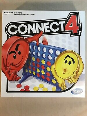 Connect 4 Four Classic Family Fun Fast Paced Board Game Hasbro Brand New Sealed!