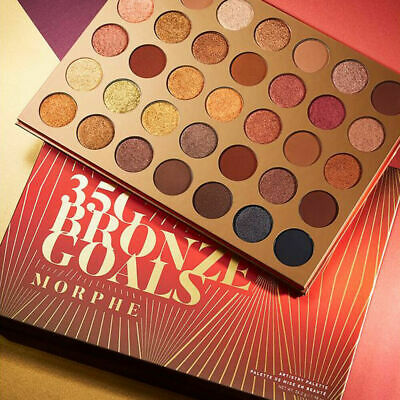 Limited Edition Cosmetic Morphe 35G Bronze Goals Artistry Eyeshadow Palette