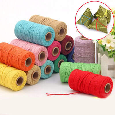 Bakers Christmas Packing Craft Projects Cotton Cords Twine String DIY Rope