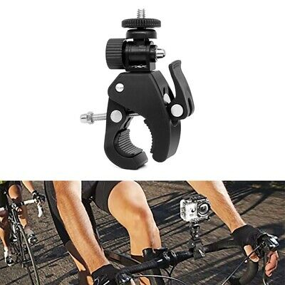 Rotatable Bike Bicycle Handlebar Camera Clamp Mount Stand Holder For GoPro- Hero