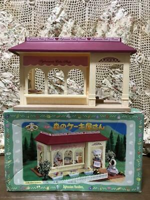 Sylvanian Families FOREST CAKE SHOP Epoch Japan 2001 Retired Calico Critters