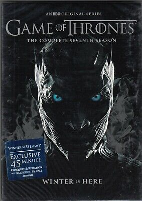 New Sealed  Brand New  Complete  Game Of Thrones Season 7 Dvd Set Region   1