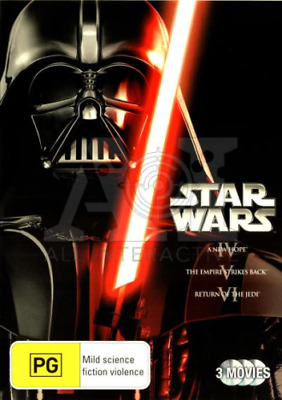 Star Wars Trilogy - A New Hope / Empire Strikes Back / Return Of The Jedi DVD