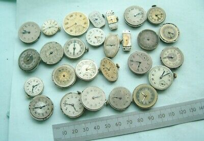 Watchmaker Nice Job Lot wristwatch movements for spare Steampunk artist Nice lot